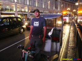 I worked in the streets in 2007 and 2008