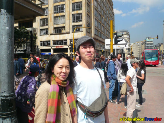 Ryo and MEgumi went to Colombia in 2009