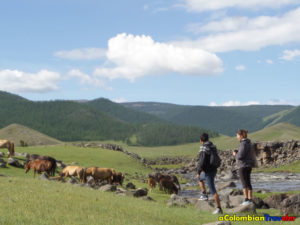 Mongolia, a country without fences.