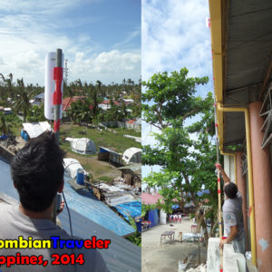 Tue and Me worked to set up a network to bring the only satellital internet link in the island to YPDR ONG