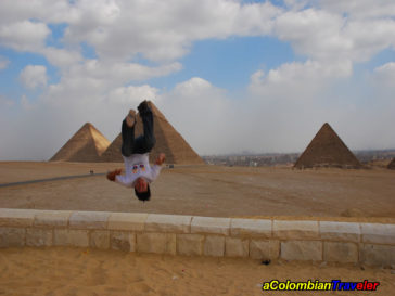camilo backflipin Egypt