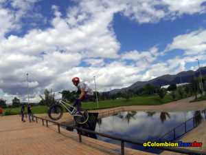 a dificult Barspin in Bogota