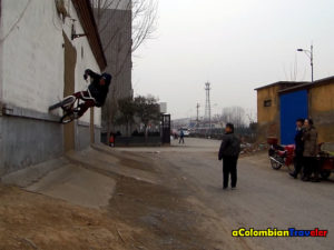 Wallride in Zibo, China