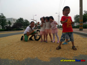 kids and grain