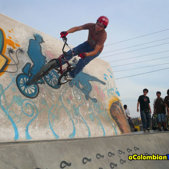 Wallride in Peru