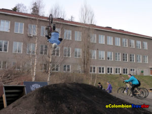 Backflip in Stockholm, 2011