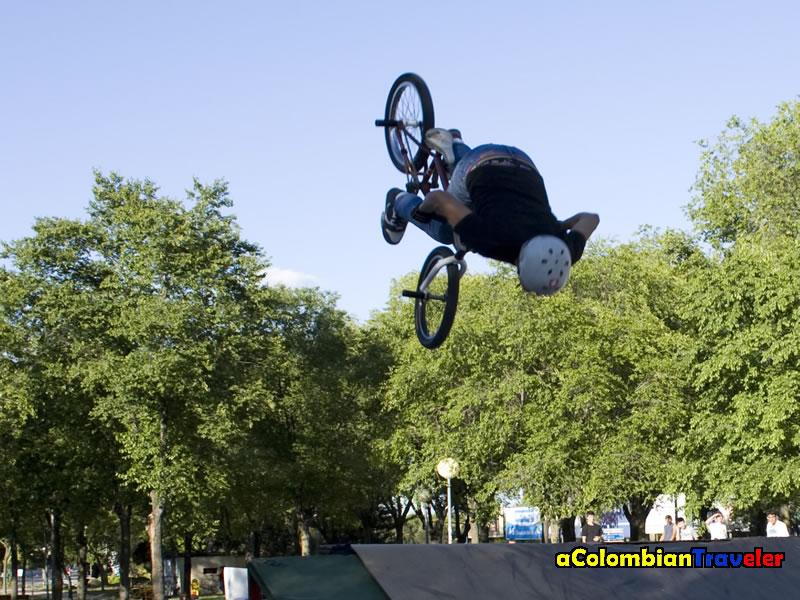 Backflip in Madrid, 2010