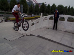 Barspin en China